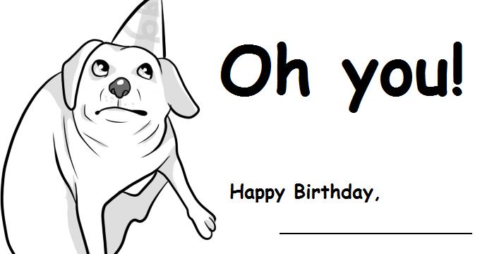 Printable Birthday Card By Yamashta On DeviantArt
