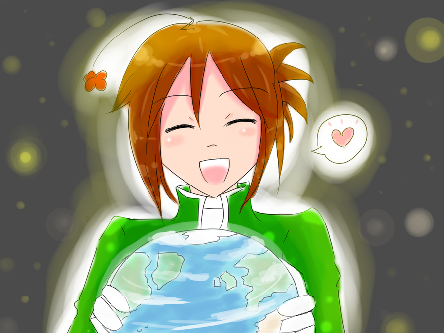 -Fanart- From Earth with Love by ver-ichihara