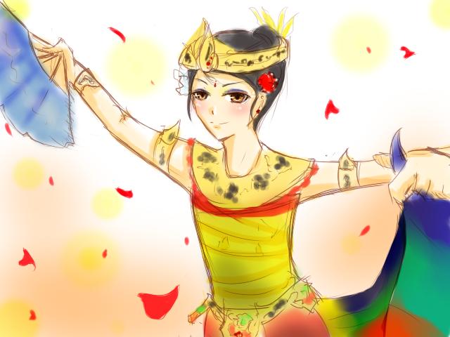 Kebyar Duduk Dance by ver-ichihara