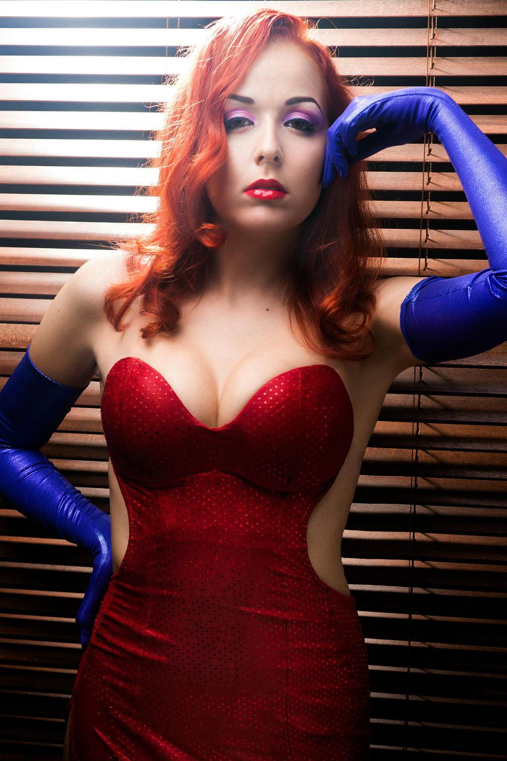 Jessica Rabbit. By SrtaRoxanne On DeviantArt