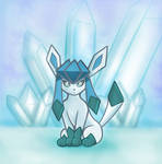 Glaceon Freeze by Nevianna