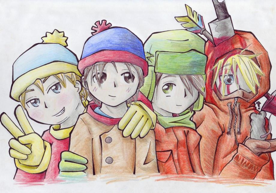 South Park...? by OniGiri999