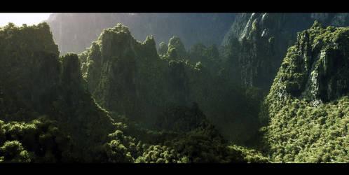 Terrain in progress by Vejza