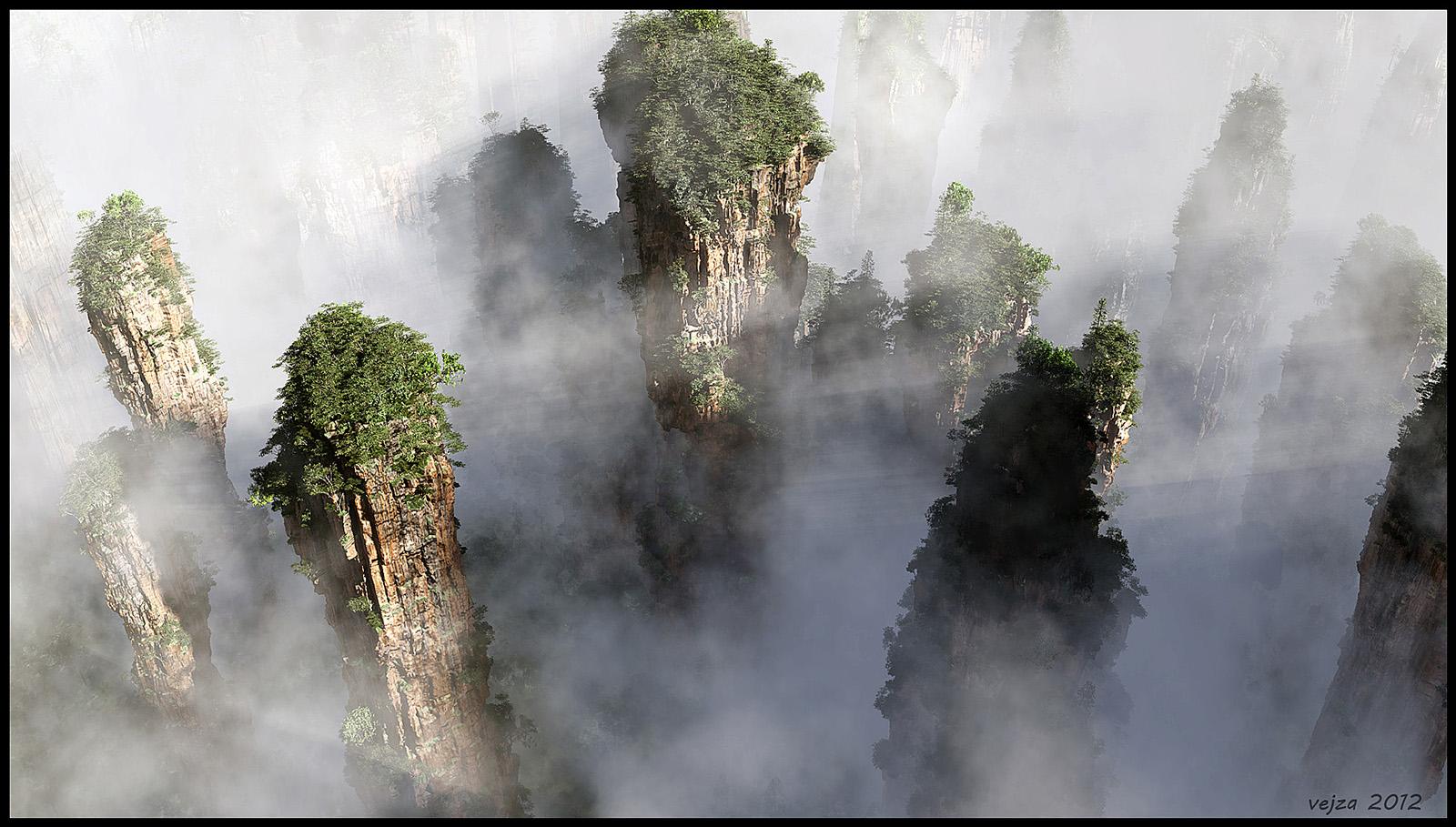 Zhangjiajie by Vejza