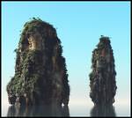 Thai cliffs