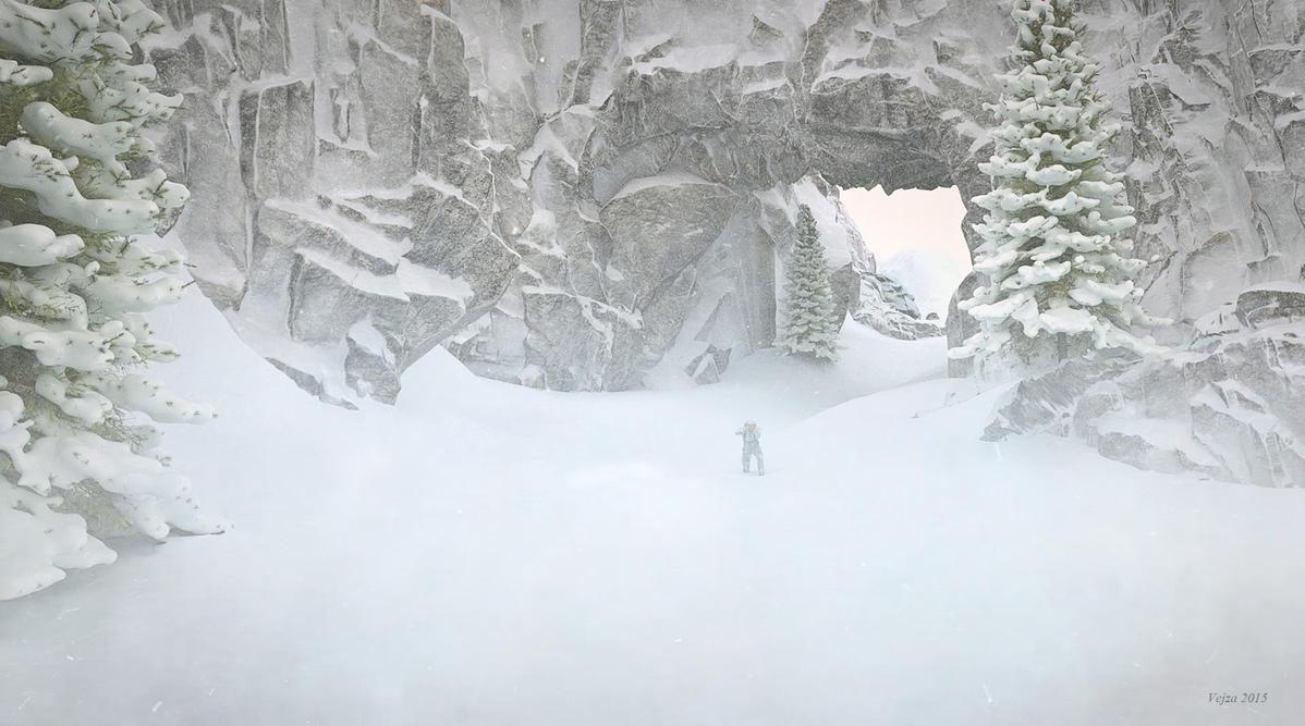 More snow by Vejza