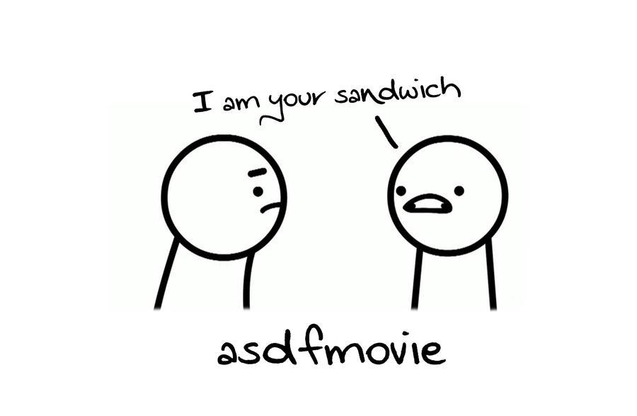 am your sandwich asdfmovie3 by JustlikeDRAQKsaidAsdf I Am Your Sandwich