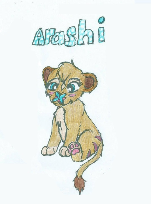Arashi by The1andonlyRaven