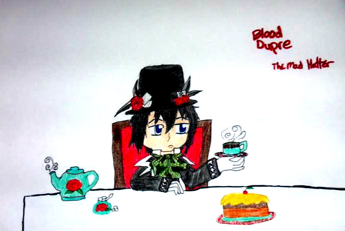 Blood Dupre The Mad Hatter by The1andonlyRaven