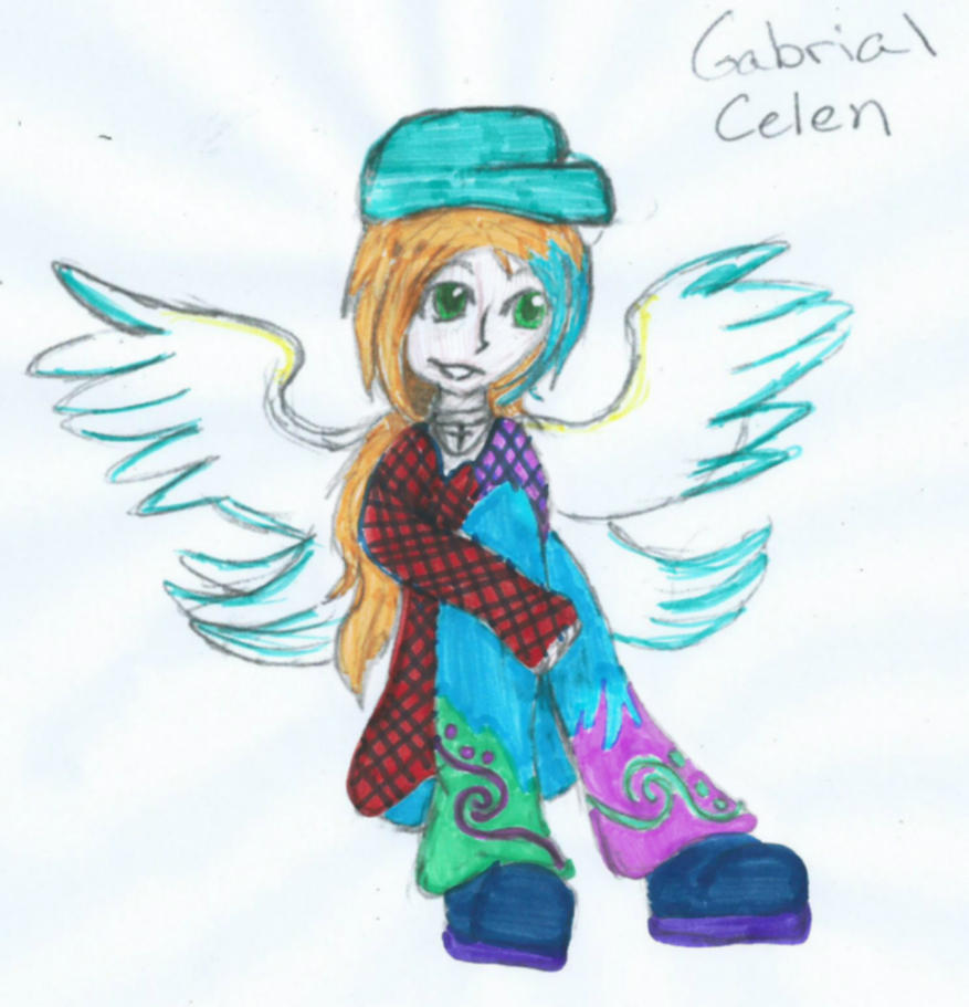 Gabrial Celen by The1andonlyRaven