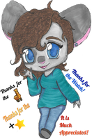 Mouse Chibi2 by The1andonlyRaven