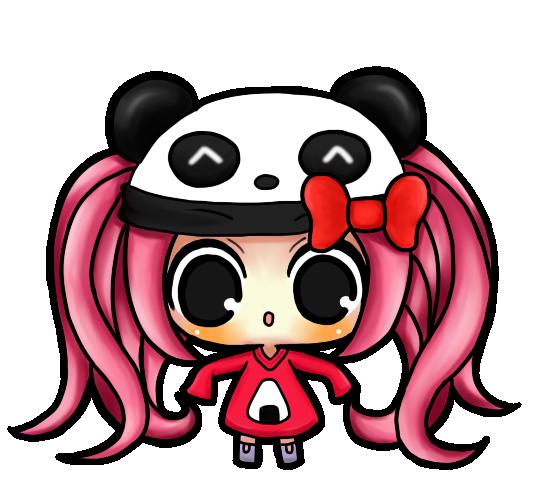 Panda girl chibi by