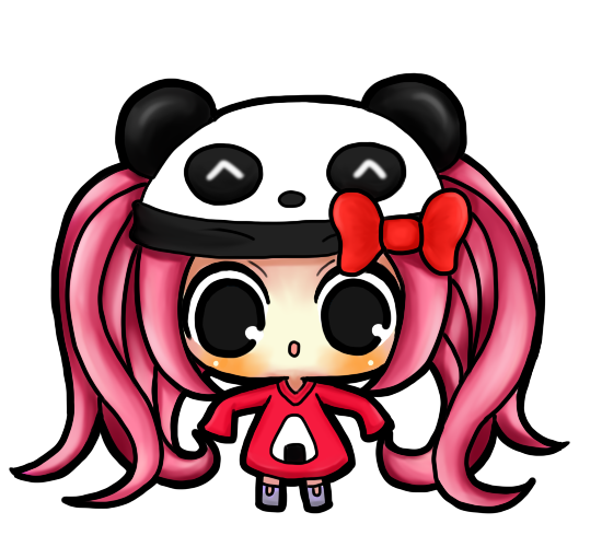 Panda Girl Chibi By Karawingsxx On Deviantart