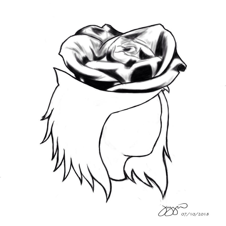 Rose Flower Head by 12jaypee34