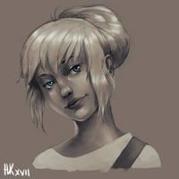 100 point sketch - Caomha by nickkaur