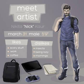 Meet The Artist by nickkaur