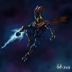 Legacy of Kain -  Raziel Fanart by nickkaur