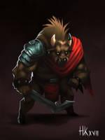 Thugaur - The Warden by nickkaur