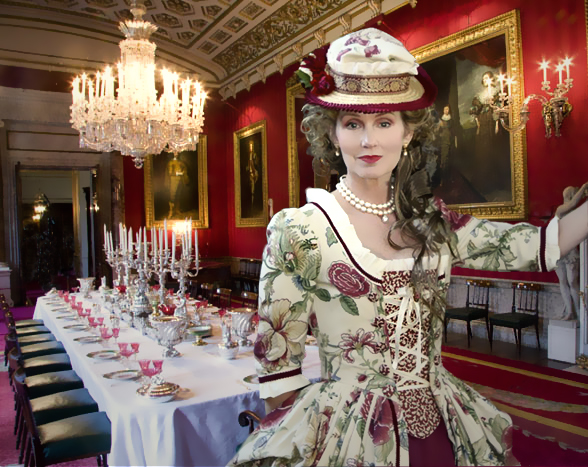 Lady K at Chatsworth by AlAlNe