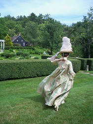 18th Century Gown Commission 2 by AlAlNe
