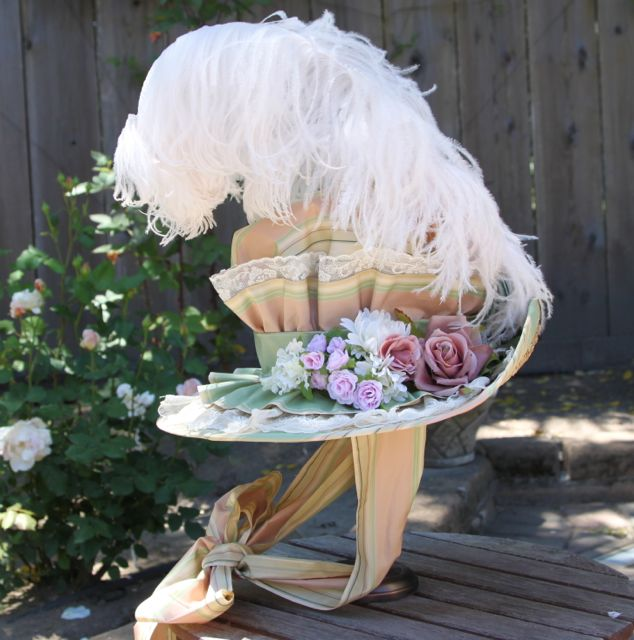 Side view of 18th C. Hat by AlAlNe