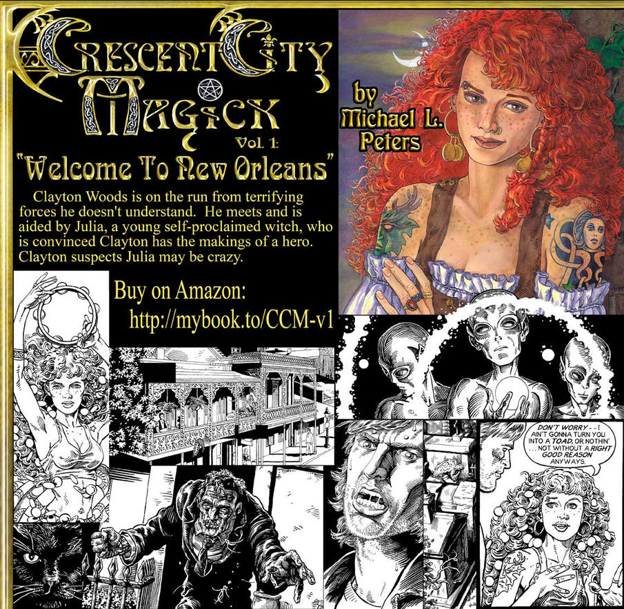 Ad image for Crescent City Magick, Vol. 1 by mlpeters
