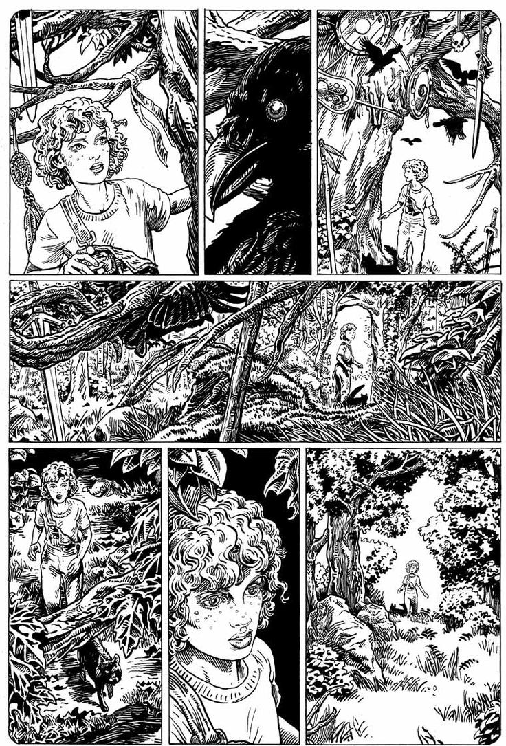 Another page for Crescent City Magick Vol 2 by mlpeters