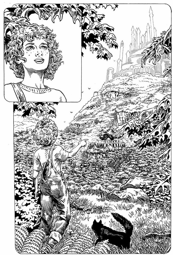 Splash page for Crescent City Magick Vol2 by mlpeters