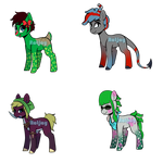 Video Game Ponies (SEE CLEAR OUT SALE) by ratjayadopts