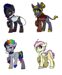 More Redesigns (See Clear Out) by ratjayadopts