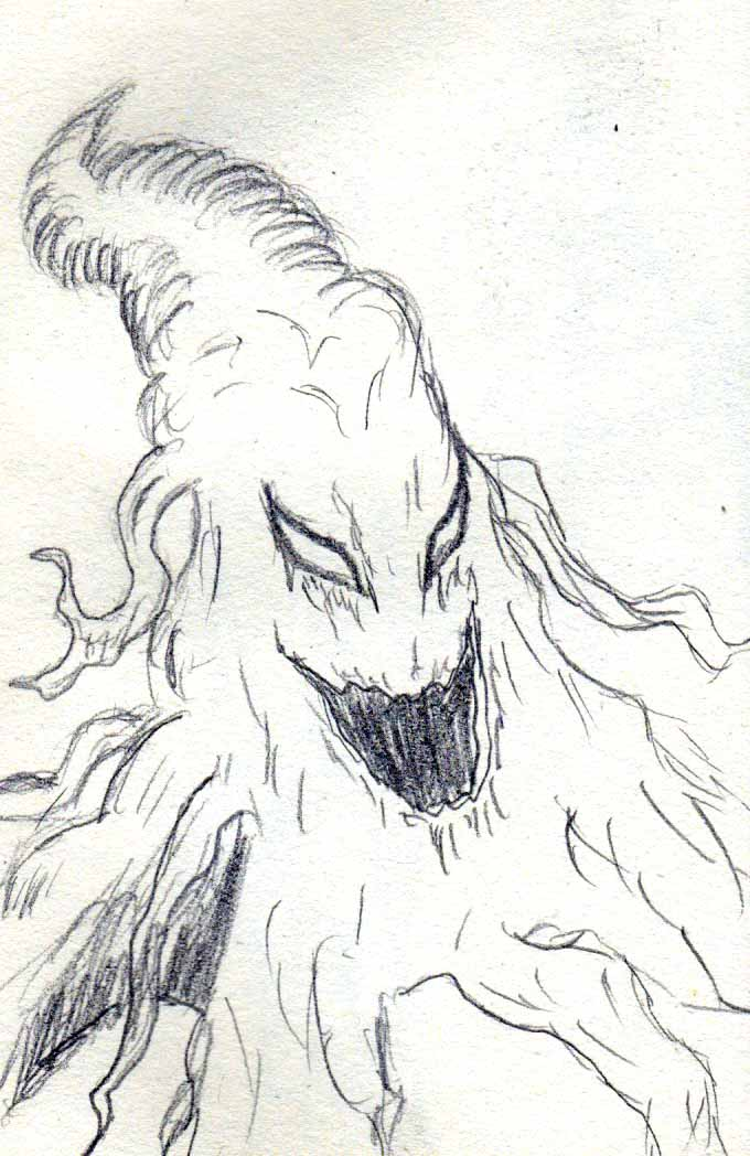 Evil Tree sketch by Felipe400
