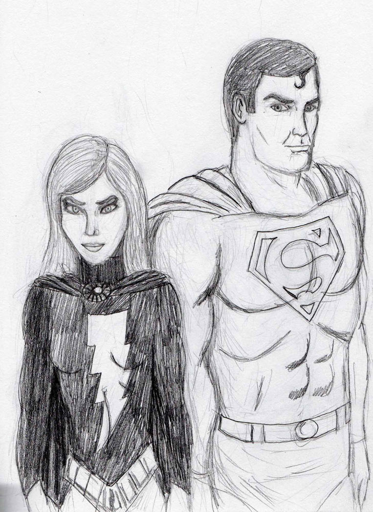 Superman and Mary Marvel 2 by Felipe400