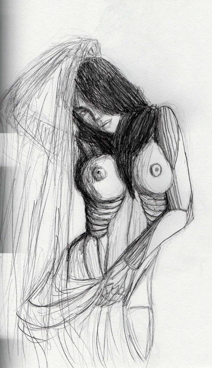 Cyborg sketch 2 by Felipe400