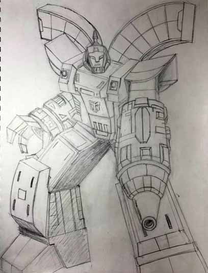 Omega Supreme sketch by Felipe400