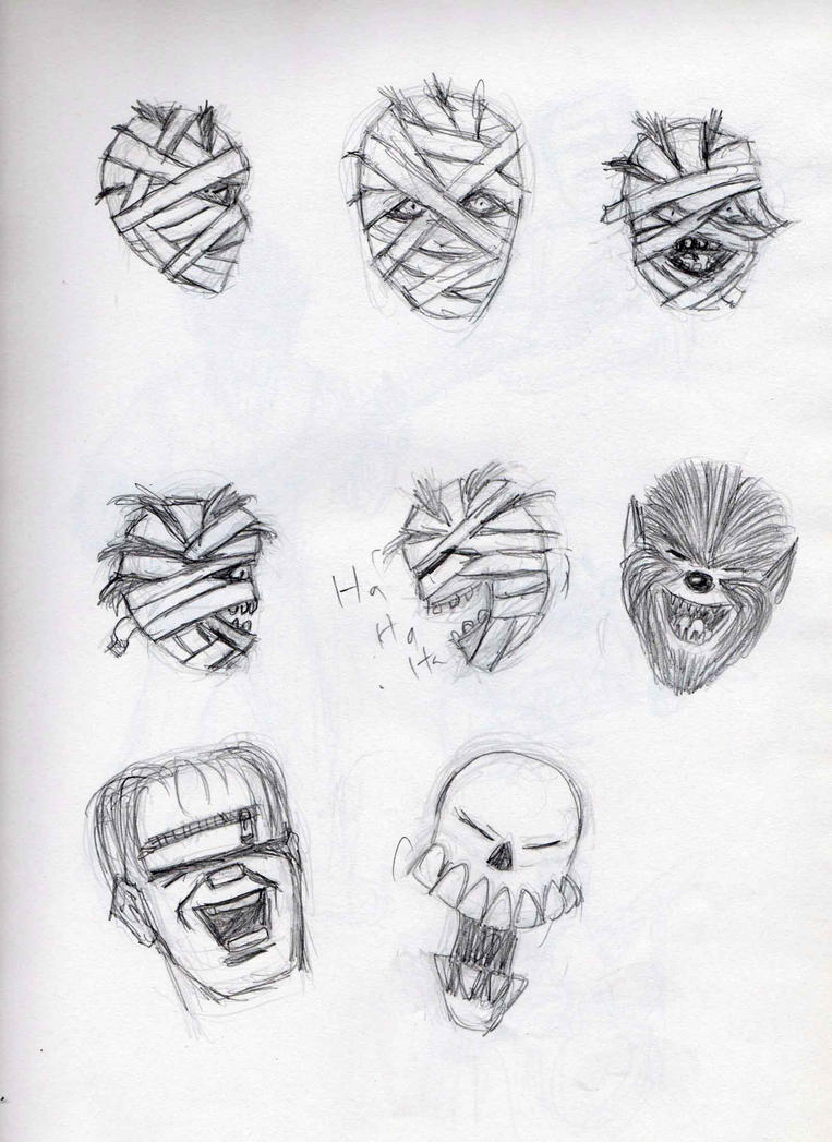 Monster sketches 4 by Felipe400