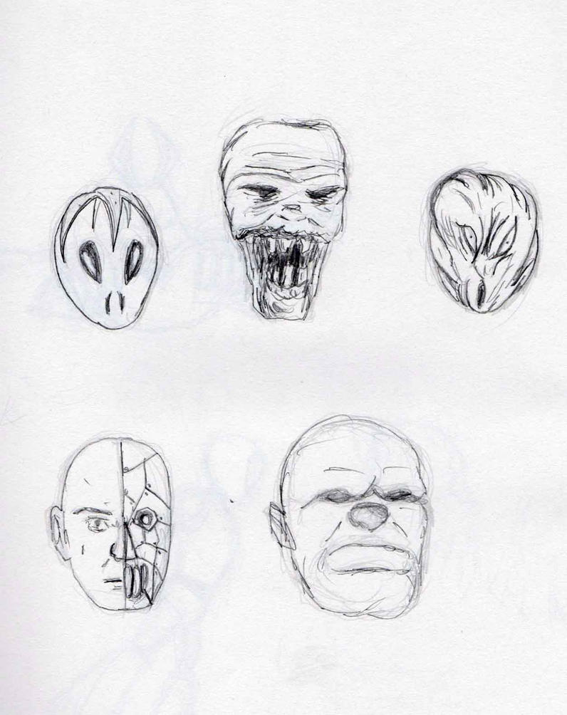 Monster sketches 5 by Felipe400