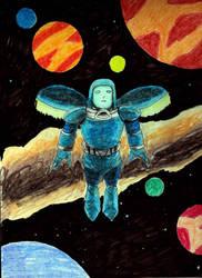 Alien explorer by Felipe400