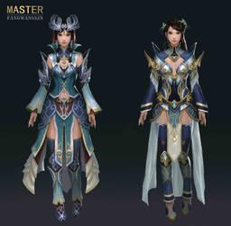 Master Concept art by FangWangLlin