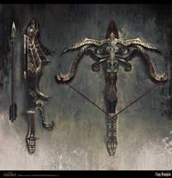 Age of Conan Persian crossbow by FangWangLlin