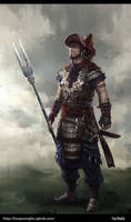 Chinese ancient warrior