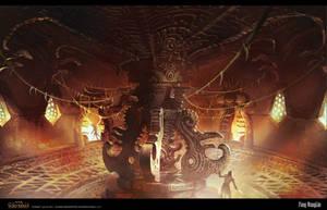 Serpent city ROOM by FangWangLlin