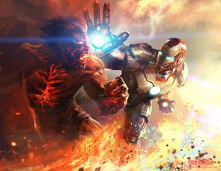 Iron Man 3 by FangWangLlin