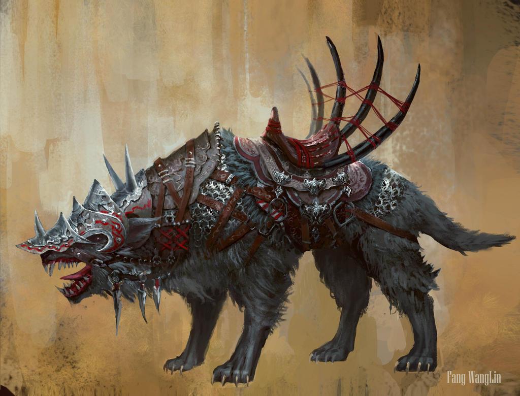 wolf by FangWangLlin