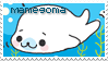 Seal Mamegoma stamp by becka72