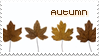 The Seasons Stamp Autumn by becka72