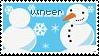 The Seasons Stamp Winter