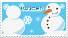 The Seasons Stamp Winter by becka72