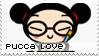 Pucca loving v 1 stamp by becka72