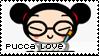 Pucca loving v 1 stamp by becka72
