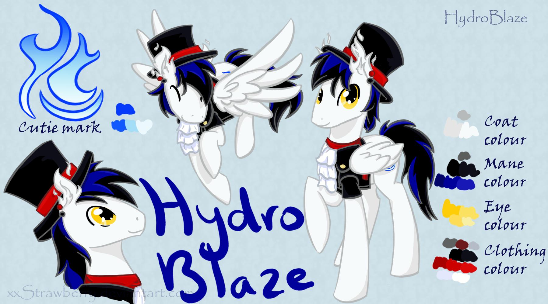 Point commission: Hydro-Blaze by xxStrawberry